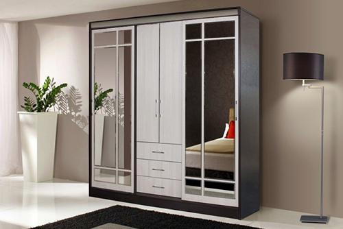 Шкаф - с двумя боковыми стенками